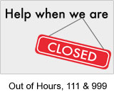 out of hours and NHS 111 information